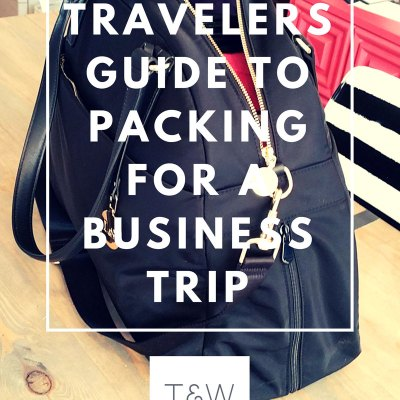 The Newbie Traveler's Guide to Packing for a Business Trip