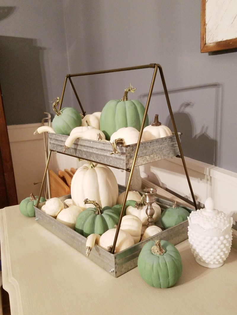 diy fall pumpkins with craft paint