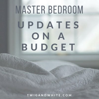 Budget Friendly Updates for the Master Bedroom