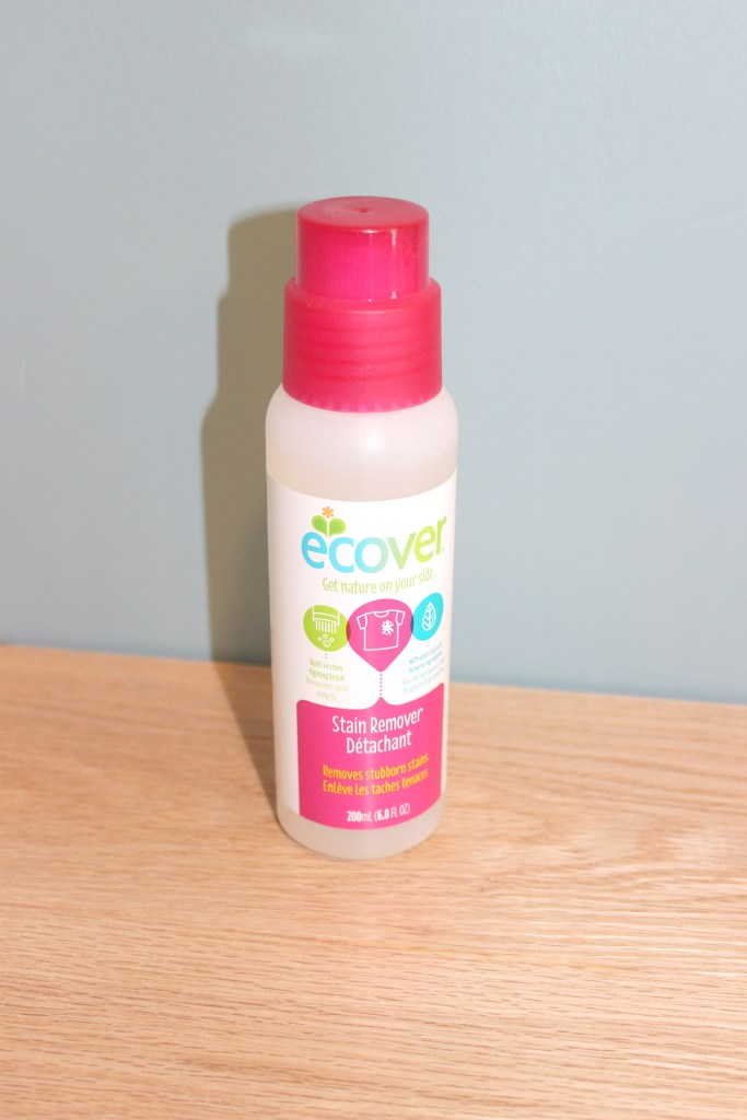 ecover stain remover for safer spring cleaning