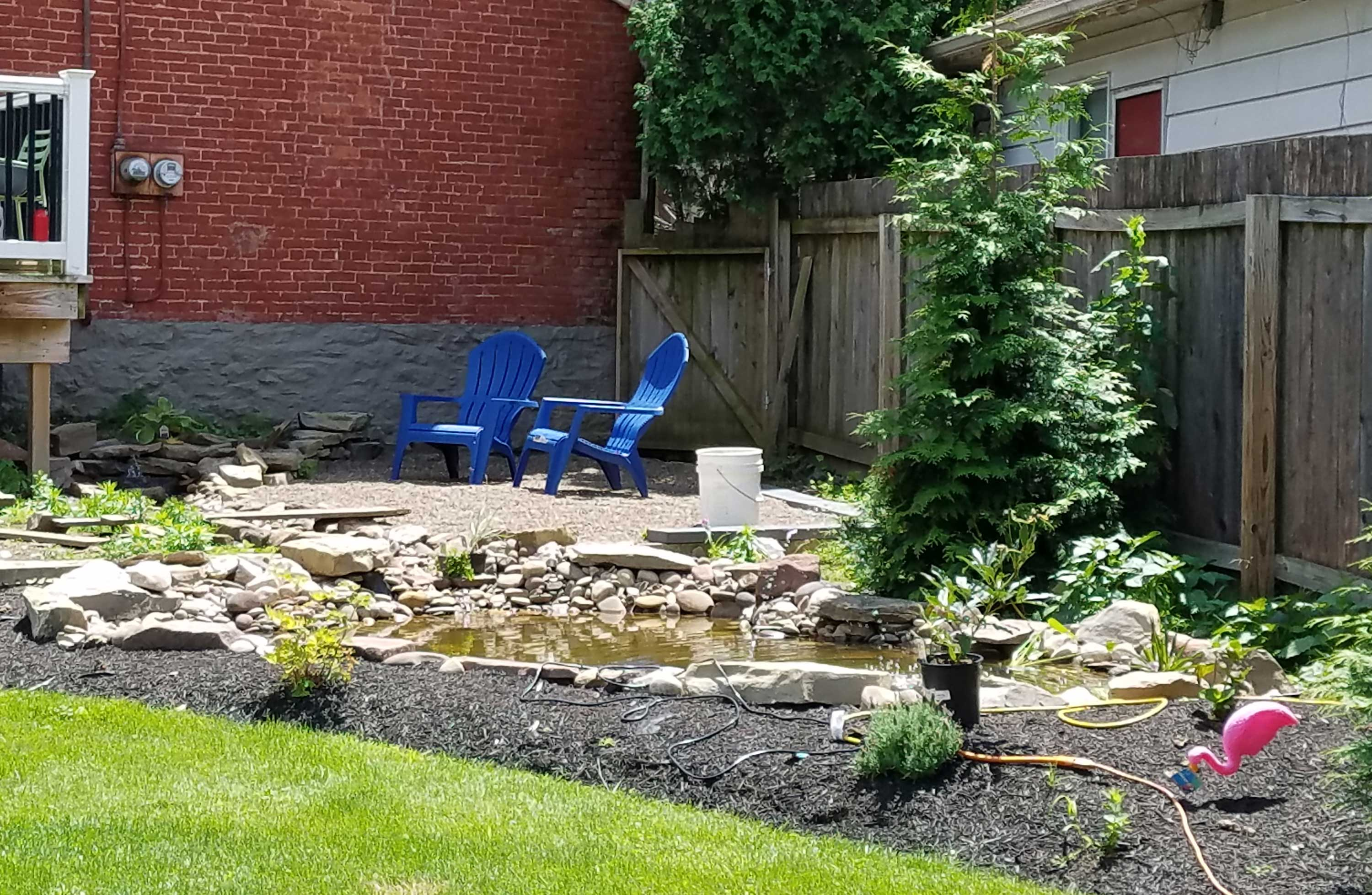 yard and patio progress