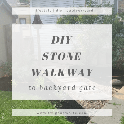 Backyard Projects: Walkway to Gate