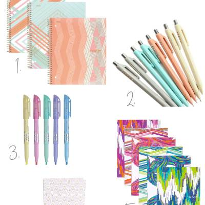Five Friday Favorites Back to School Supplies Adults Love Too!