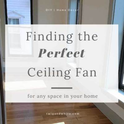 Beauty and Function:  Finding the Perfect Ceiling Fan