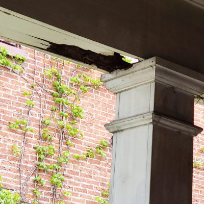 Unplanned Home Maintenance:  Our Side Porch Project