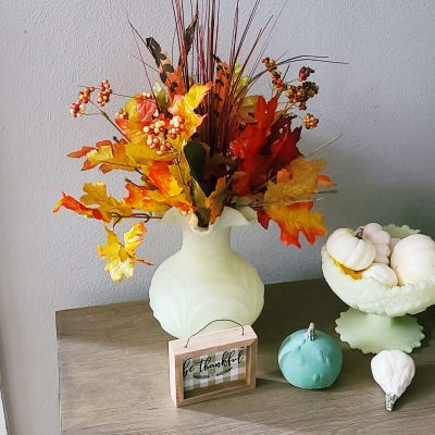 A Few Fall Touches around the House