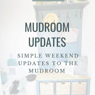 Weekend Project: Mudroom Makeover