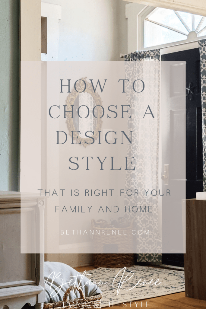 how to choose a design style that feels right