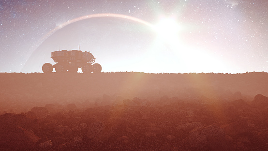 Colonization of distant planet