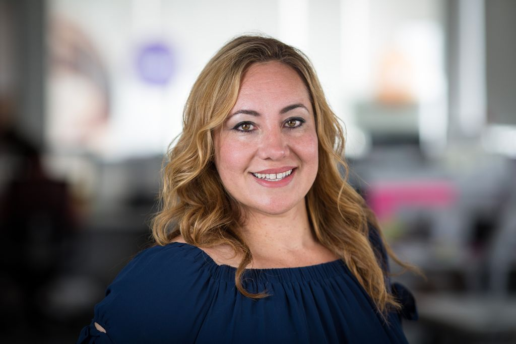 Photograph of Cheryl De La Vega