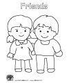 Friendship, pets and family preschool and kindergarten