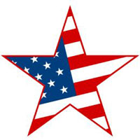 Image result for red white and blue stars