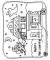 Halloween, pumpkins, spiders, bats kids crafts and activities