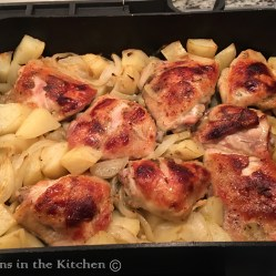 Chicken_Potatoes_Onions before adding Peas