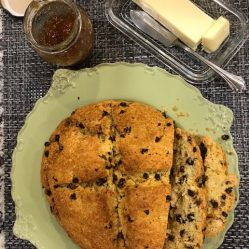 gl irish soda bread plated w jam
