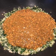 Add lentils and couscous