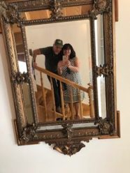 Mirror Mirror on the wall...Jack & Teresa having a ball!