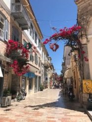 Typical Nafplio alley