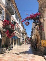 Typical Nafplio alley