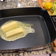 Melt Butter on warmest setting of electric skillet