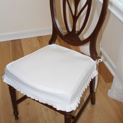 How To Make Kitchen Chair Back Covers Green High Project Gallery Twill Slipcover Studio