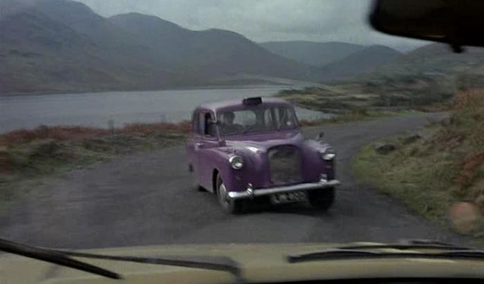 Fleeing from the task I ran headlong into The Purple Taxi