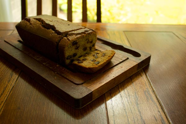 sliced tea brack