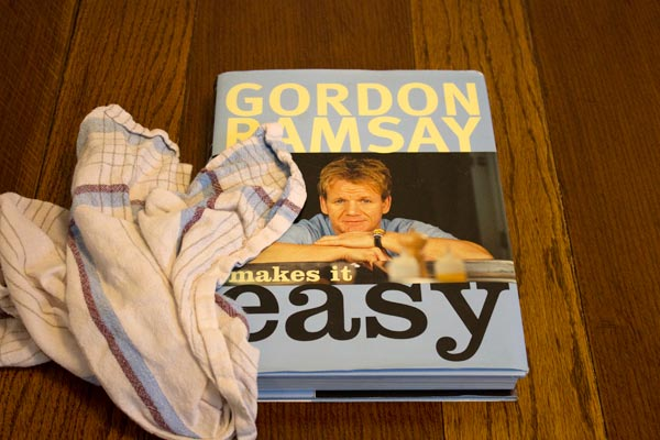 gordon ramsay cookery book