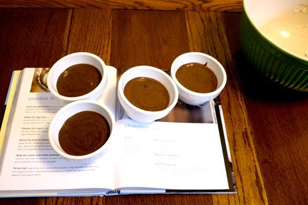 intense chocolate orange pots