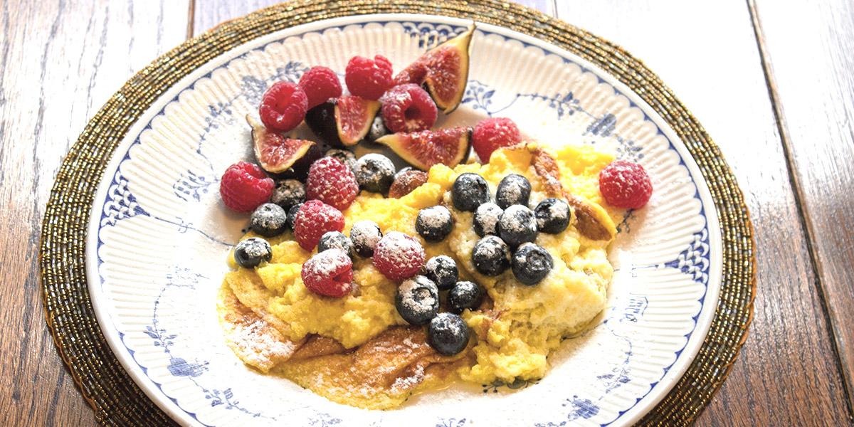 Lemon Soufflé Omelette