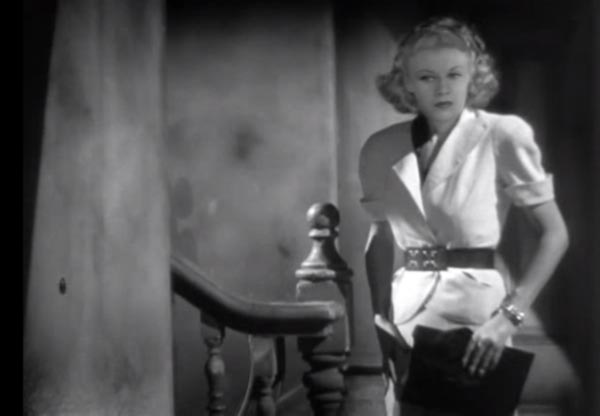 Ginger Rogers as Rosie Mitchell.