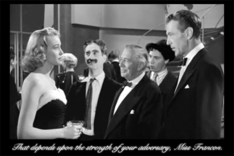 The Marx Brothers reappearing in the lost classic that never was