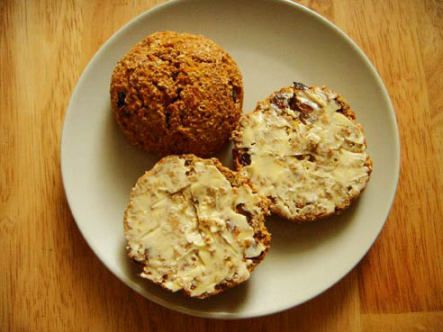 Brown Fruit Scones