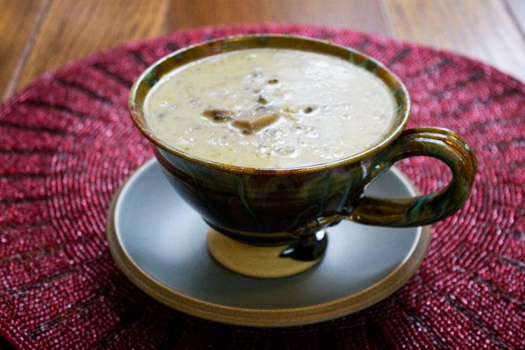 Mushroom and Creme Fraiche Soup