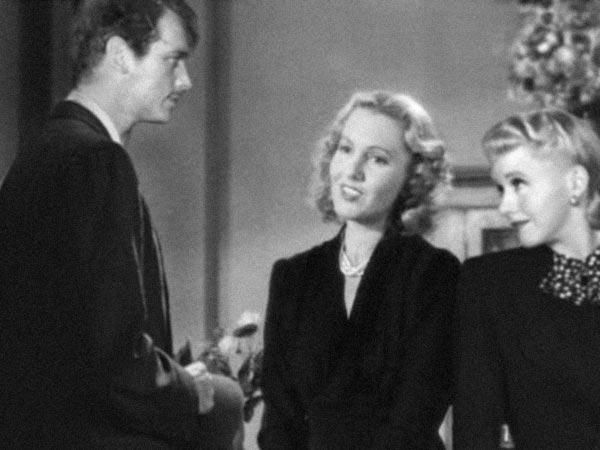 Douglas Fairbanks Jr, Jean Arthur and Ginger Rogers