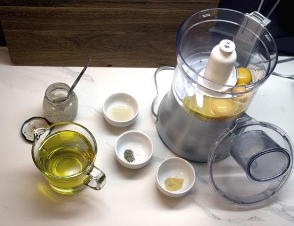 food-mixer-mayonnaise ingredients