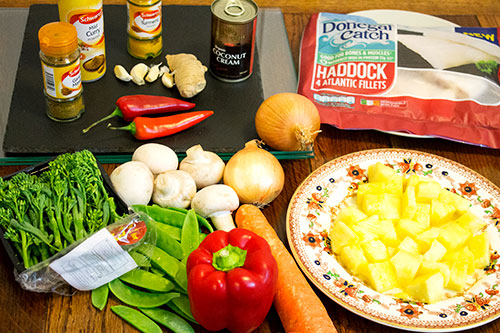 ingredients for curry