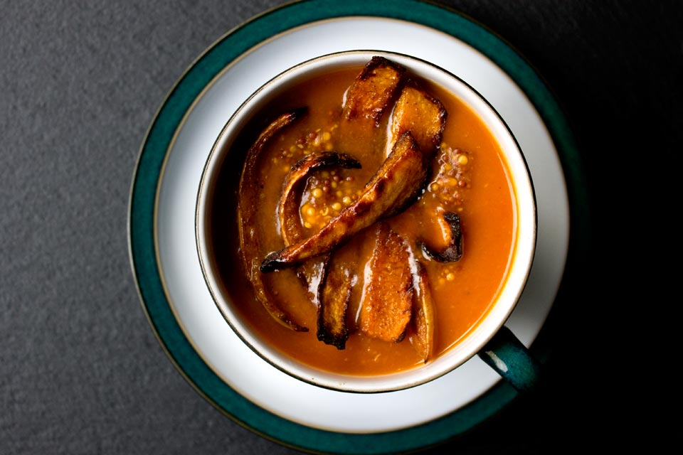 Butternut Squash, Tomato and Cumin Soup