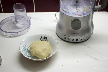 buckwheat dough