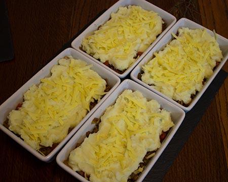 shepherds pies pre-bake