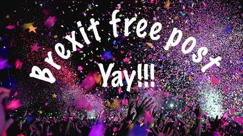 brexit free post