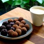 Salty Chocolate Date and Almond Balls