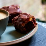 Flourless Caramel Chocolate Cake Bars