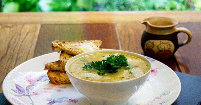 Chicken Garlic Soup