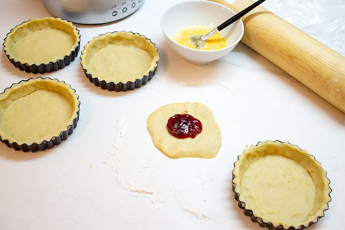 with enough left over for a jam tart