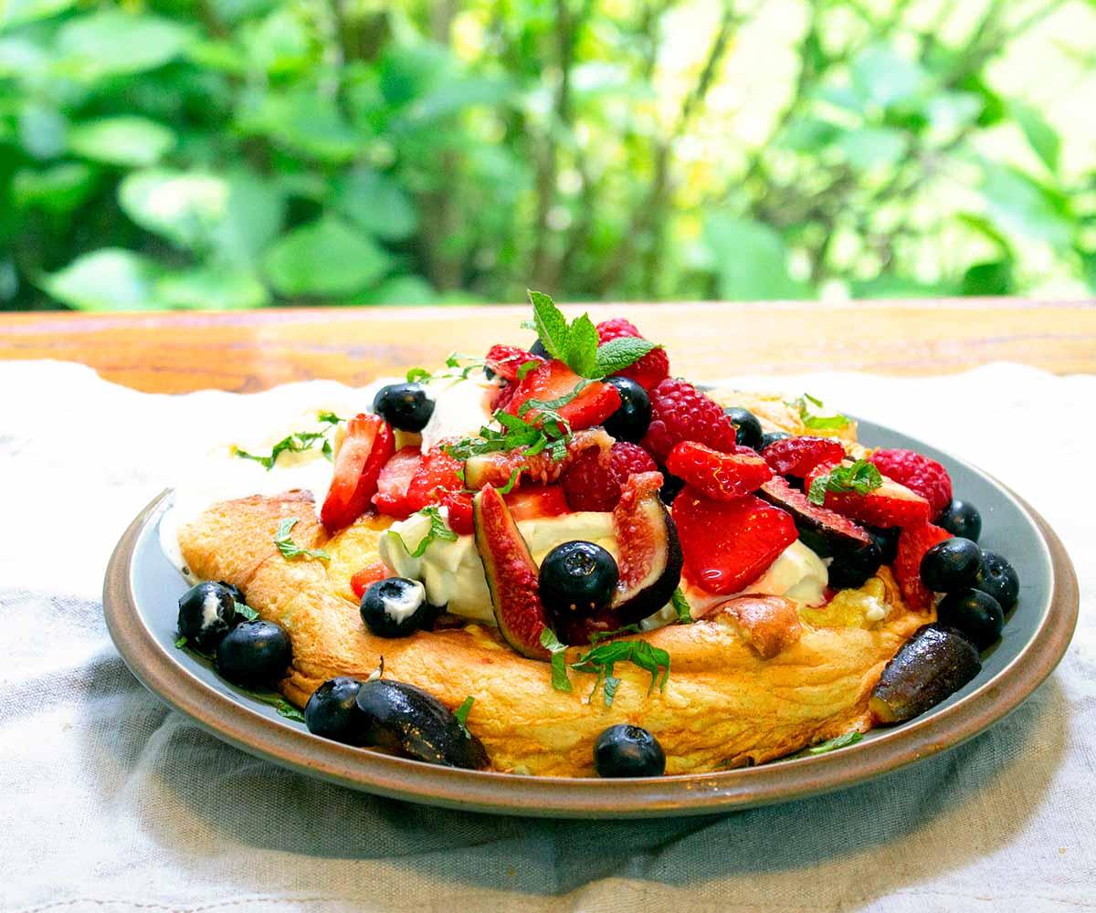 Vanilla Souffle Omelette
