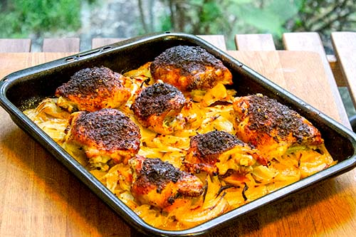 Baked Portuguese Chicken