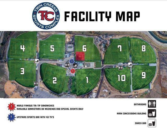 TC Facility Map