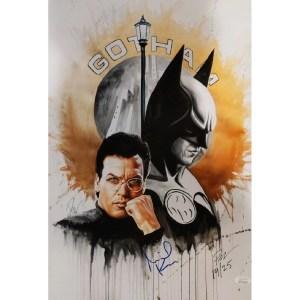 Rob Prior Batman print signed by Ewan McGregor