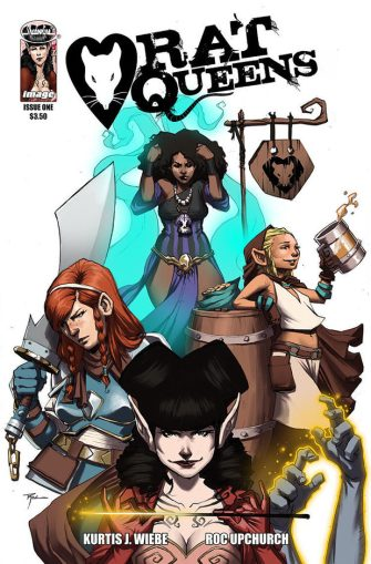 Cover of Rat Queens #1 (art ©2013 R. Upchurch)